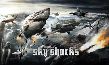 Le Cabinet de Curiosités : des requins volants zombies.