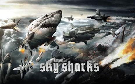 cabinet de curiosités - Le Cabinet de Curiosités : des requins volants zombies.