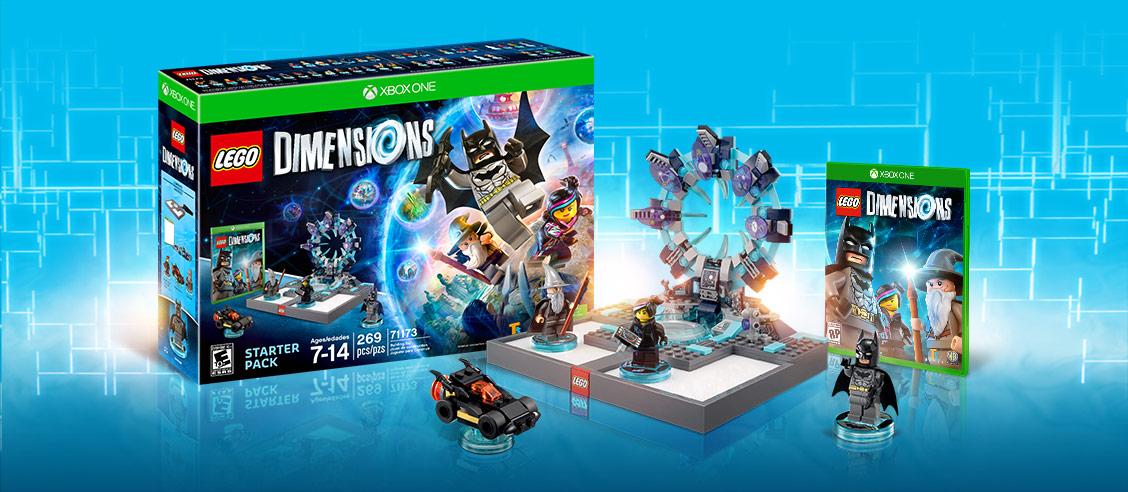 LEGO DIMENSIONS : tous les univers Lego en un jeu