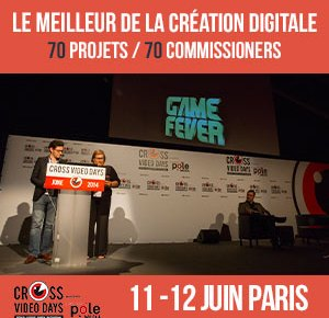 cross video days 2015 - Cross Video Days 2015 : avant-goût des projets retenus ban cvd inscrivezvous 300 300