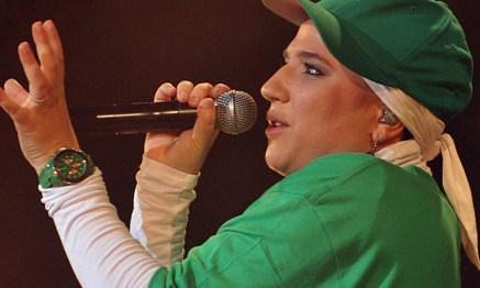 Diam's lors de sa dernière tournée en 2010