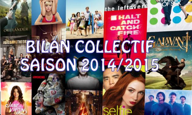 Bilan collectif de la saison séries 2014/2015