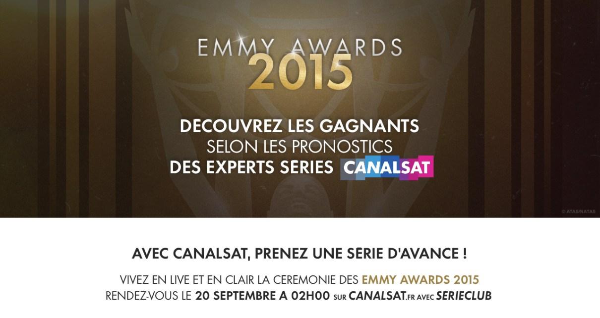 emmy awards - Emmy Awards, découvrez les pronostics des blogueurs Visuel global