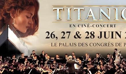 Titanic, l'expérience du ciné-concert