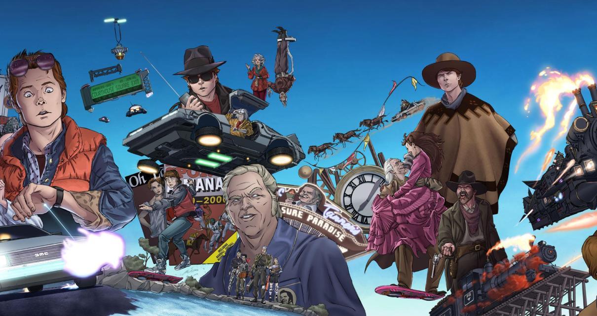 retour vers le futur - RETOUR VERS LE FUTUR débarque en comics unnamed 3