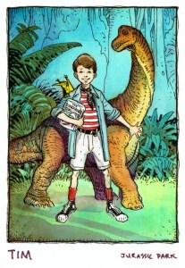 Jurassic park - UE : Jurassic Park The Animated Series SaleJPTim
