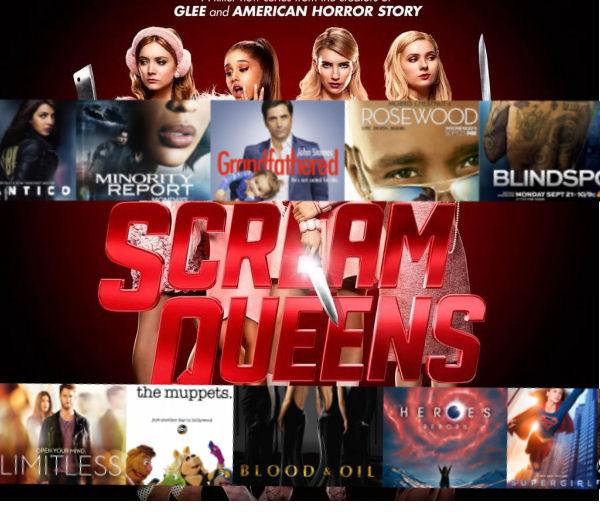 nouvelles séries - La rentrée Séries US : Tout savoir sur les nouvelles séries Scream Queens Poster