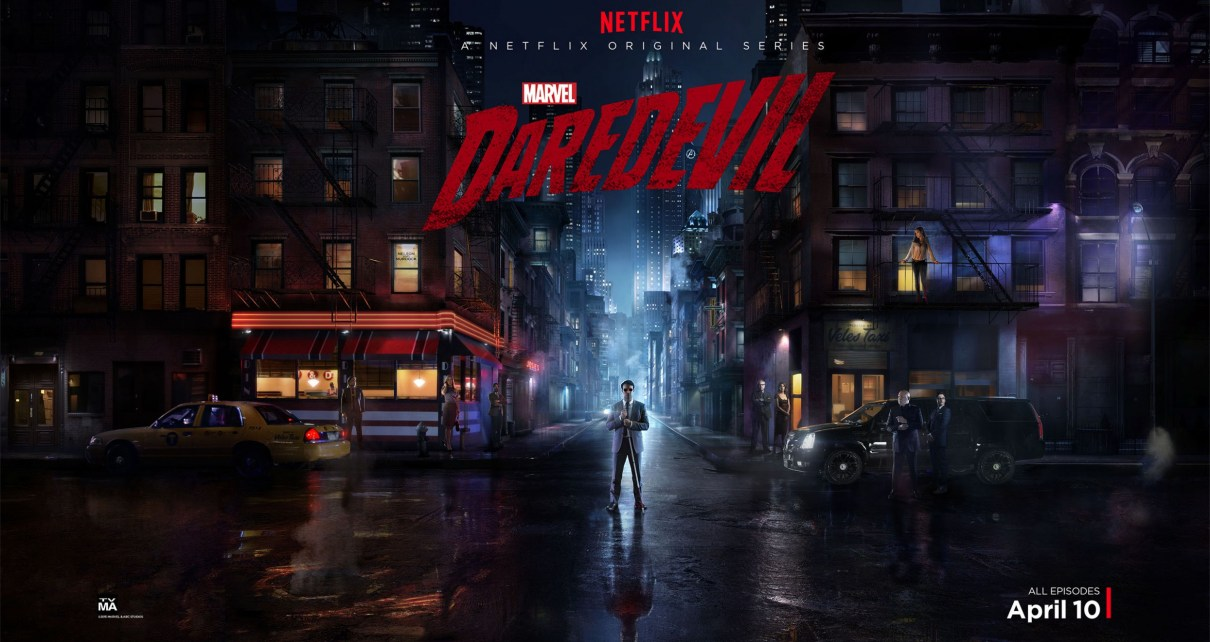 saison 1 - Daredevil : bilan de la saison 1 daredevil tv show poster 01 2500×1401