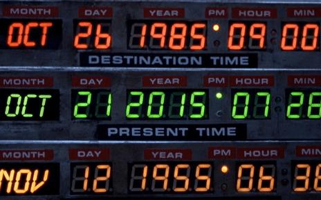 21 octobre 2015 - Nom de Zeus : c'est le 21 octobre 2015 ! retour vers le futur