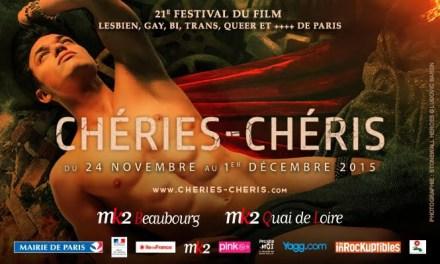 Le festival Chéries-chéris démarre aujourd'hui !