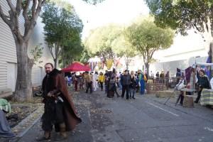 La séparation du village médiéval