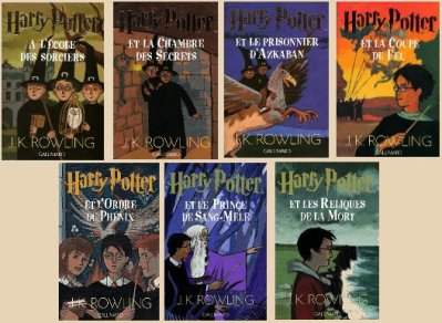 Saga_Harry_Potter_Livres
