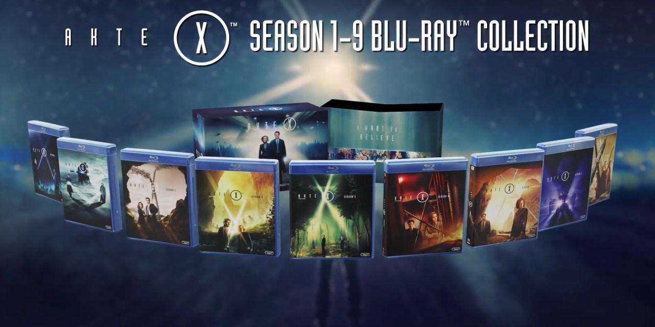 Détails et visuels des coffrets blu-ray X-Files à travers le monde