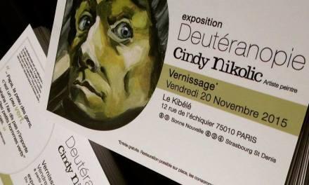 Deutéranopie, expo au Kibélé, Paris 10 : regards perdus dans le métro