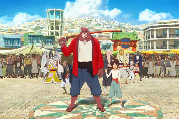 japonais - Le garçon et la bête de Mamoru Hosoda