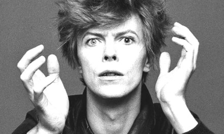 David Bowie, live and in color