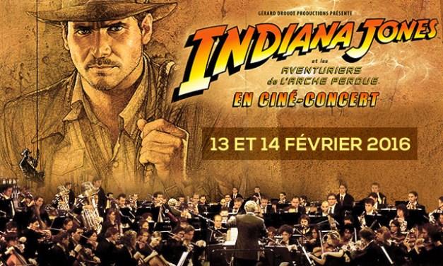 Indiana Jones, le ciné-concert
