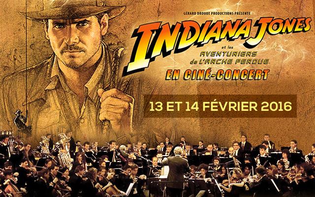 indiana jones ciné-concert