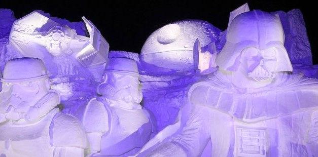D'énormes sculptures de neige geeks au Festival de Sapporo, au Japon ! (Suite)