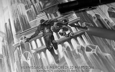 exposition - Exposition gratuite Cinéma & Pop Culture à la French Paper Gallery de Paris mercredi 23/03/16