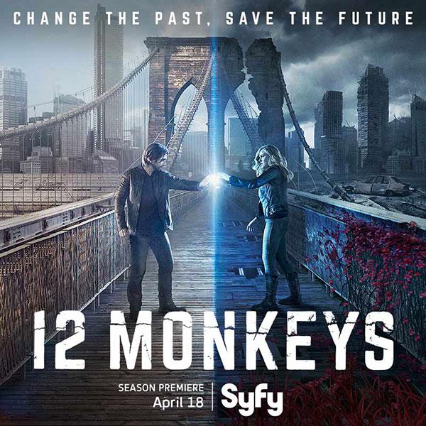12 monkeys - 12 Monkeys saison 2 dès le 3 mai en France sur SyFy