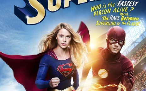 comic-con paris - Warner Bros dévoile son programme du Comic-Con Paris supergirl the flash crossover poster2
