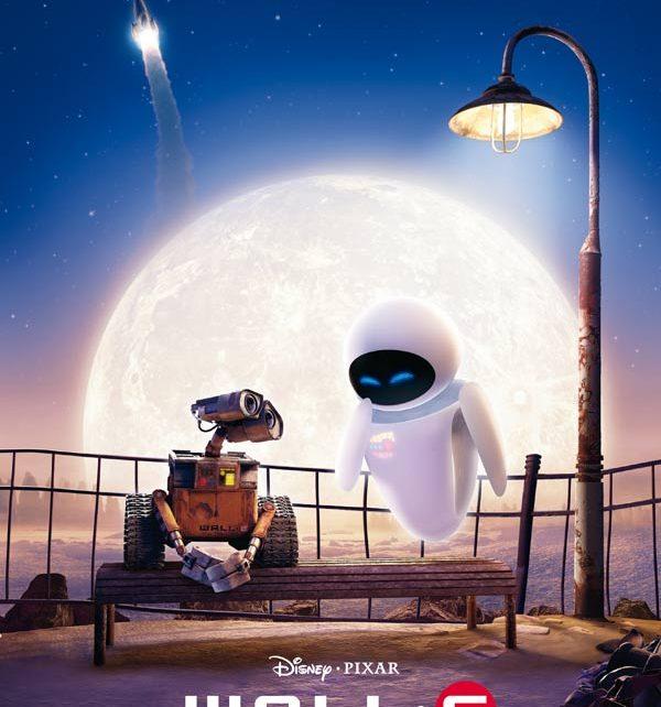Retro Pixar Wall-e affiche