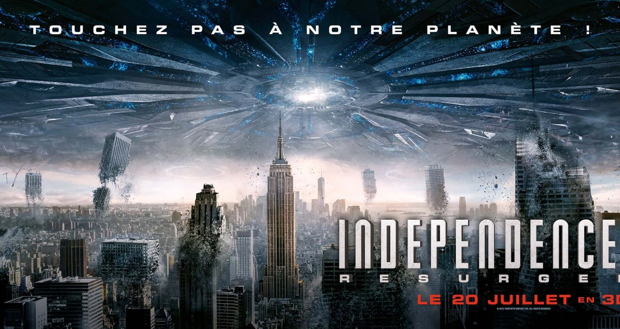 independence day resurgence - Independence Day Resurgence : prochain arrêt Gare du Nord BORDEAUX 102x397 Independence Day BD