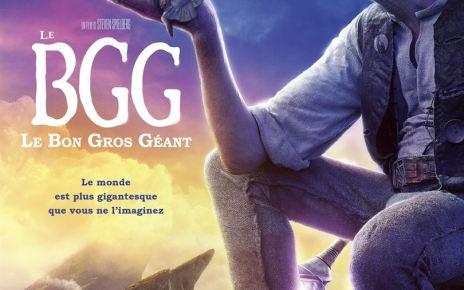 adaptation roman - BGG, Le Bon Gros Géant : Quand Spielberg nous lit une histoire Le Bon Gros Géant affiche
