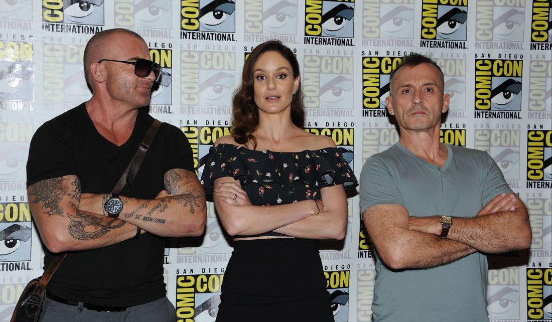 prison break - #SDCC - Prison Break n'échappe pas à son trailer pour la saison 5 Prison Break San Diego Comic Con 2016 19