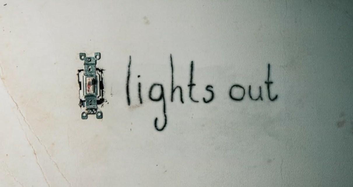dans le noir - Dans le Noir (Lights Out) : jour, nuit, jour, ennui lights out