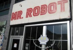 sdcc - San Diego Comic-Con : tout le fil actu, toutes les images (ou presque) mr robot installation 01
