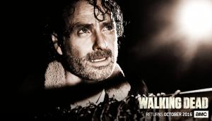 sdcc - #SDCC - Walking Dead tease son retour avec affiches et reconstitution pour la saison 7 the walking dead season 7 poster rick