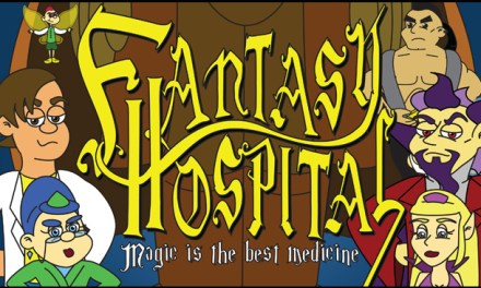 Fantasy Hospital, la websérie animée avec Pauley Perrette (NCIS), Kunal Nayyar et Wil Wheaton (The Big Bang Theory)