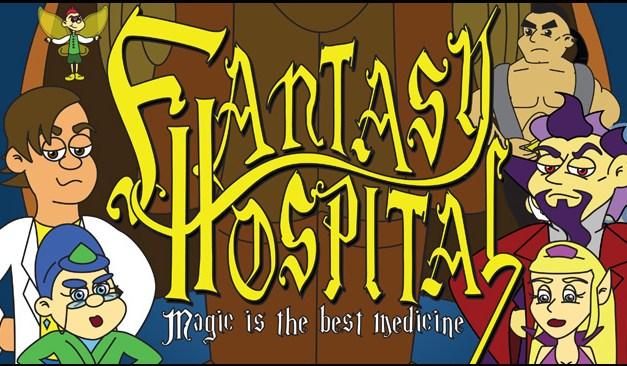 Fantasy Hospital, la websérie animée avec Pauley Perrette (NCIS), Kunal Nayyar et Wil Wheaton (The Big Bang Theory)
