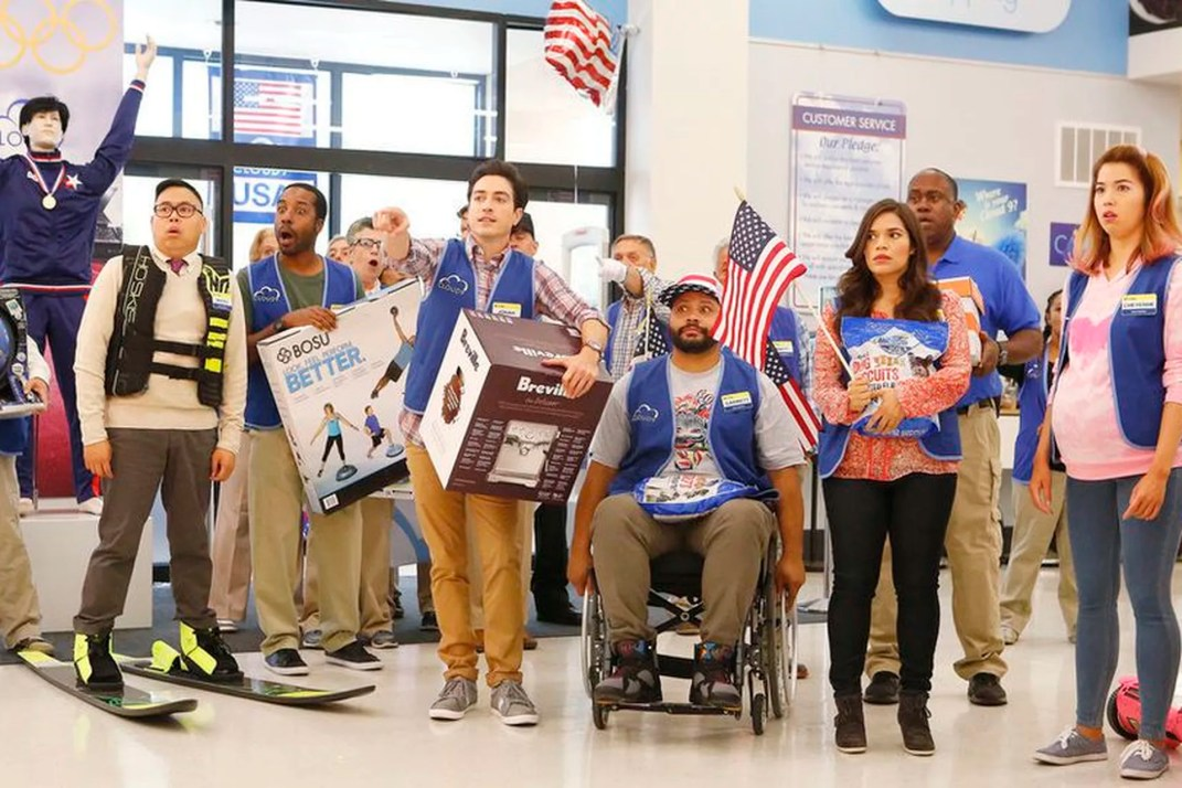 superstore olympics