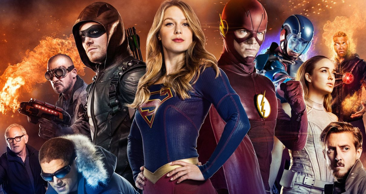 legends of tomorrow - Crossover Supergirl / Flash / Arrow / Legends of Tomorrow : un (flash)point c'est tout
