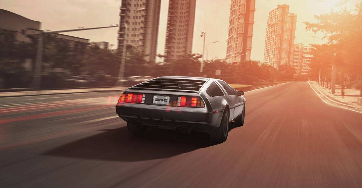 delorean - La DeLorean reviendra en 2017