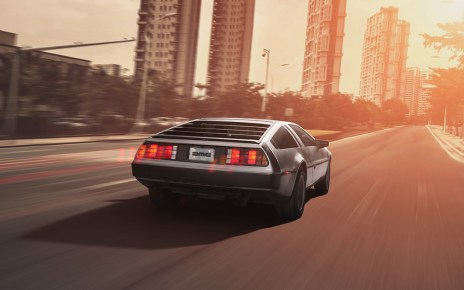 delorean - La DeLorean reviendra en 2017 delorean
