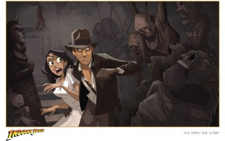 Indiana Jones - Indiana Jones en court métrage animé