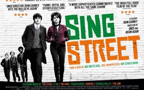 sing street - 5 raisons d'aller voir Sing Street, la 4è ne va pas vous surprendre sing street quad poster