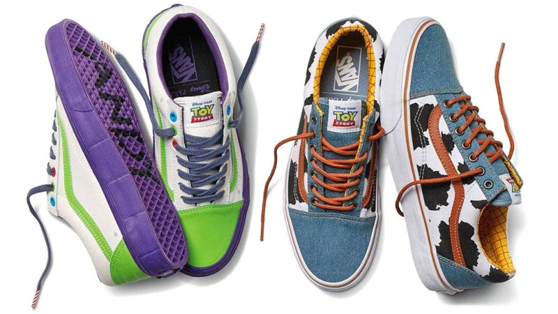 Collections - Des Vans Toy Story au pied ! vans toy story
