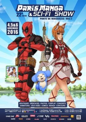 Paris Manga 22e édition : pleine de bonne volonté