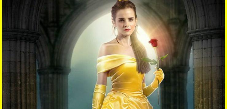 La Belle et la Bête - Premières images de la Bête avec sa Belle Emma Watson