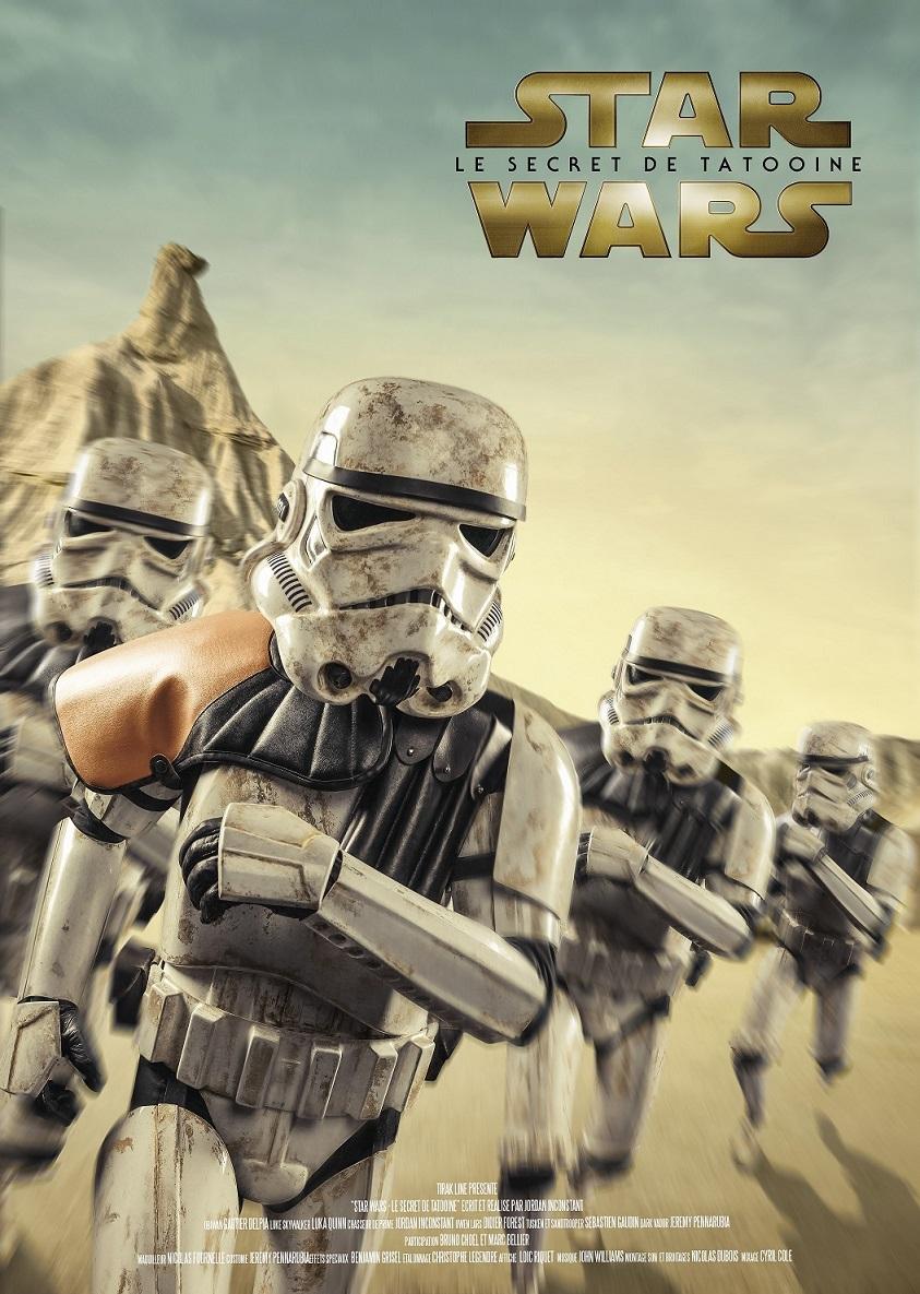 fanfilm - [Fanfilm] Star Wars : Le Secret de Tatooine. POSTER SAND FR