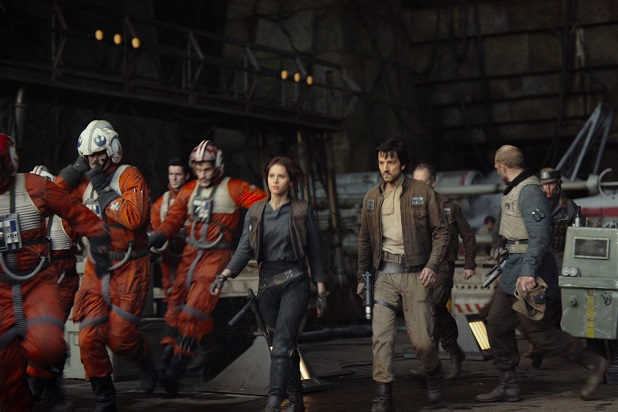 rogue one - Rogue One : A Star Wars Story, une question d'âme jyn erso and diego luna 1