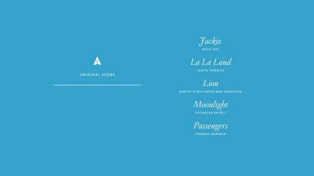 nominations - Oscars : 14 nominations pour La La Land NOMINATIONS oscars 1 15