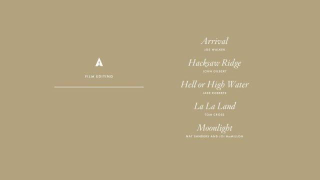 nominations - Oscars : 14 nominations pour La La Land NOMINATIONS oscars 1 20