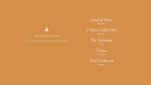 nominations - Oscars : 14 nominations pour La La Land NOMINATIONS oscars 1 6