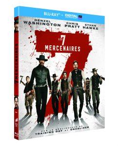 concours - Concours : gagnez le film Les 7 MERCENAIRES en Blu-ray et DVD 7 MERCENAIRES BD